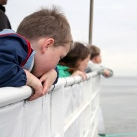 Ferry travel with kids