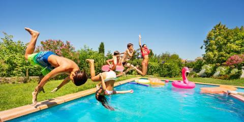 Pool fun in the sun!