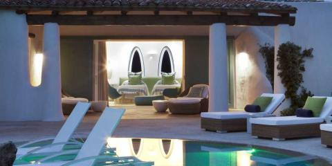 Villa at Romazzino Hotel, Sardinia.