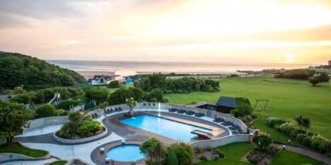 Stunning grounds of Woolacombe Bay Hotel.