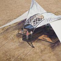 Zipwire - landing platform