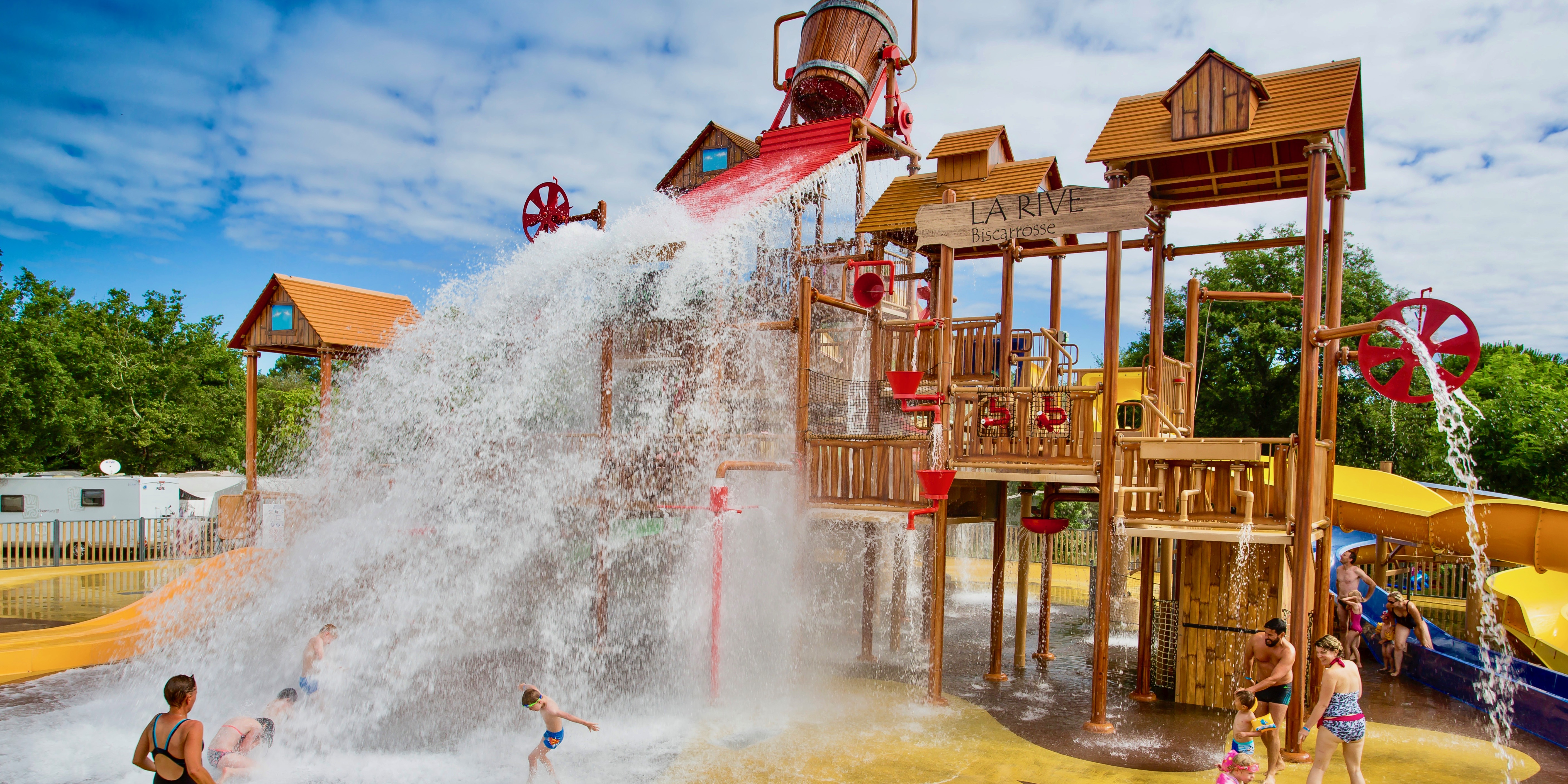 Water park at La Rive