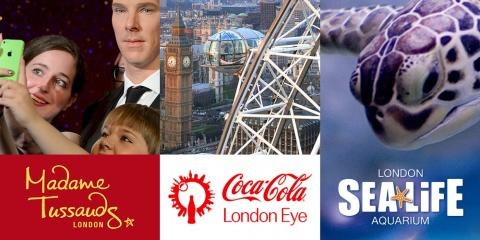 The BIG London Cluster Ticket - 4 Attractions in 1 Ticket.