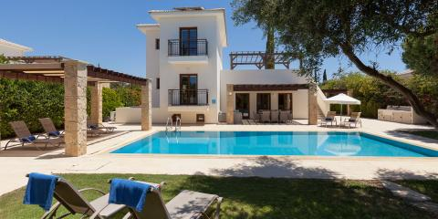 Luxury villas and apartments with a wealth of sports and leisure facilities.