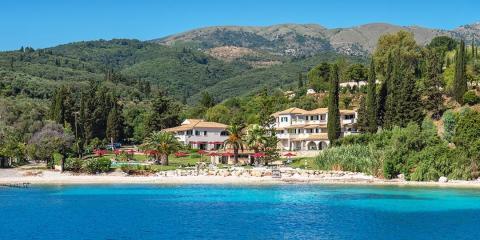 The Bella Mare Hotel, Corfu.