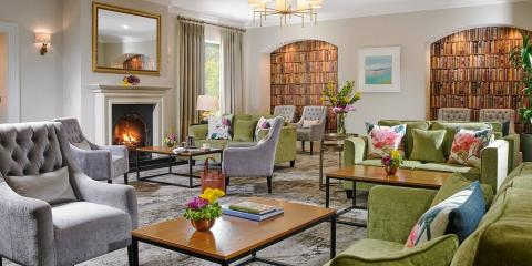 The lounge at the Clonakilty Park Hotel.