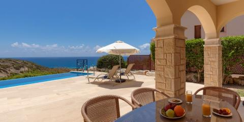 Relax and unwind at Aphrodite Hills Holiday Residences.