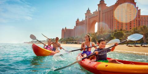 Enjoy some family fun at Atlantis the Palm