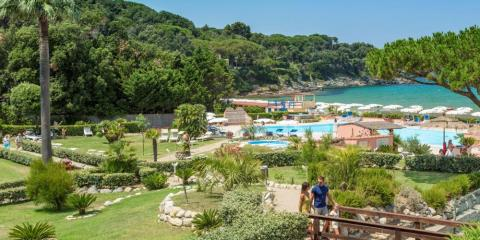 Hotel del Golfo is set within beautiful gardens, right on the beach