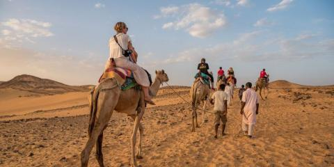 Discover the world on a family adventure, like this one in Egypt with Intrepid.