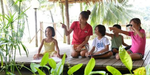 Kids have so much fun at Club Med Cherating Beach.