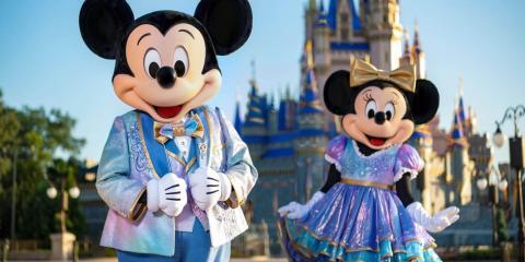 Walt Disney World Florida 50th Anniversary Celebrations.