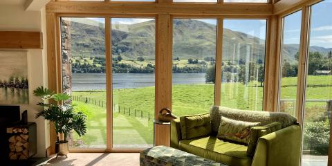 Family-friendly holiday homes in Cumbria.