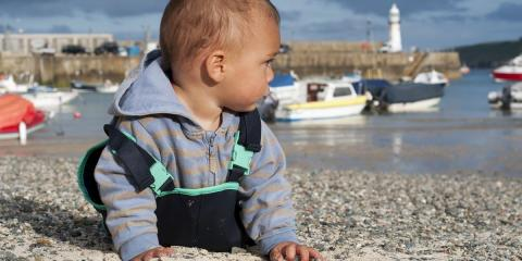 Enjoy a break in Cornwall with your little one.