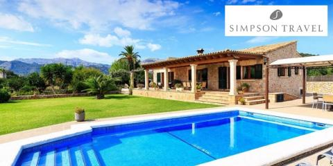 Luxury family holidays with Simpson Travel.