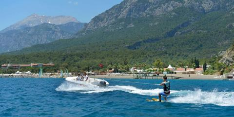Watersports are among the many activities available on a Club Med holiday.