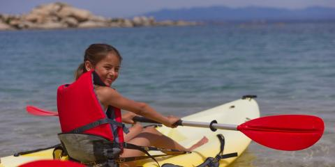 Watersports are part of the activities offered in the kids' clubs at the resort.