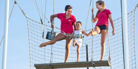 [copyright]Active family holidays at Club Med Sandpiper Bay.[/copyright]