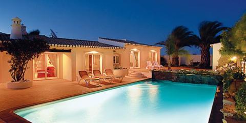 Pool view at Casa Sophie.