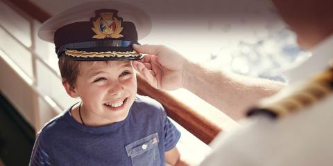 Child-friendly P&O Ventura.