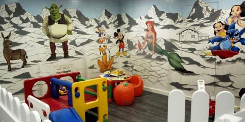 Children's play area at Residence Pas de la Casa Alaska.