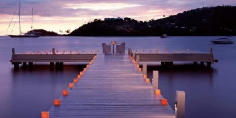 Carlisle Bay, Antigua.