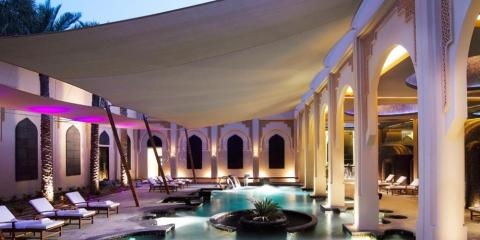 Luxury spa at Al Areen Palace & Spa.