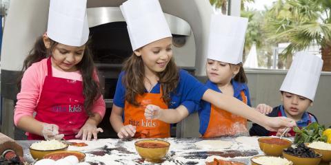 Kids cookery class at The Ritz-Carlton, Bahrain.