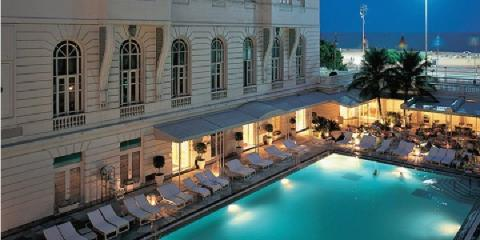 Pool at the Belmond Copacabana Palace Hotel.