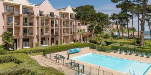 Pool at Pierre & Vacances Perros Guirec L'Archipel.