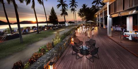 CBA bar and restaurant at the Pelangi Beach Resort, Langkawi.
