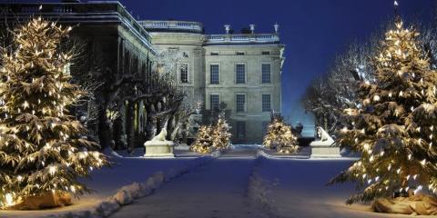 Chatsworth at Christmas.