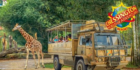 Short breaks for families at Chessington World of Adventures.