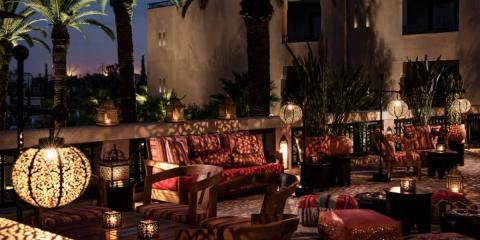 [copyright]Stylish surroundings on a city break at the Four Seasons Marrakech.[/copyright]
