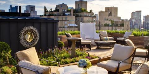 Rooftop Garden Surrey Hotel New York