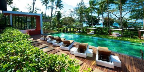Stunning pool at Club Med Phuket