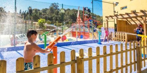 Rosamar Garden Resort splash play area.
