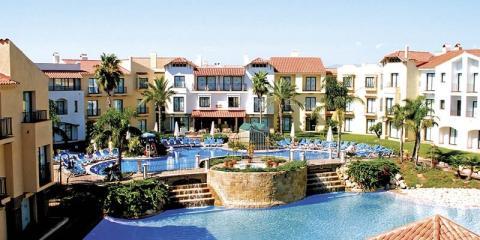 Pool view at the Hotel PortAventura.