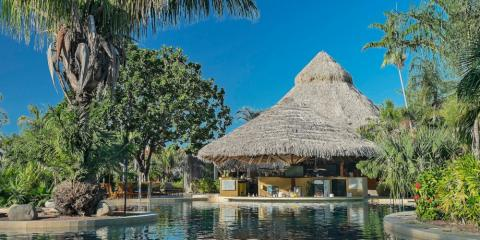 Pool bar at Hotel Westin Playa Conchal.