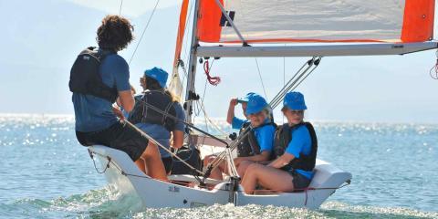 Sailing at the Alana Beachclub in Croatia