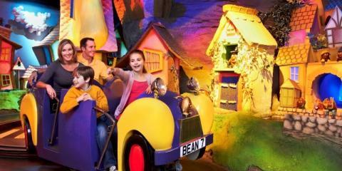Family fun at Cadbury World