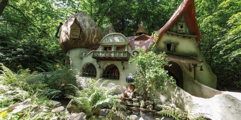 A fairytale house at Efteling.