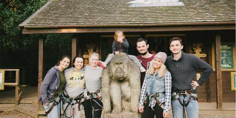 A day out with Go Ape!