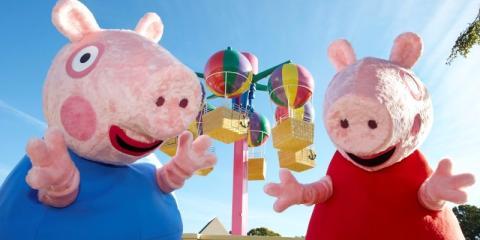 Family fun at Peppa Pig World