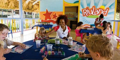 Kids Club at ClubHotel Riu Bachata.