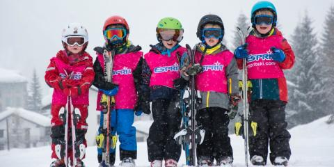 Kids on an Esprit family ski holiday