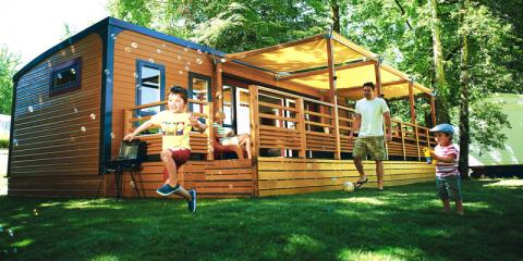 Eurocamp holiday parc; ideal for family holidays.