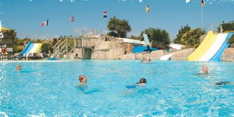 Pool at Le Clarys-Plage Campsite, Vendée