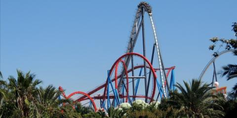 Shambhala and Dragon Khan, Portaventura.