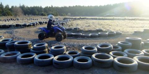 Quad-biking at Center Parcs,